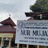 Photo taken at Masjid Al-Mujahidin Madiun by Imam S. on 7/9/2014