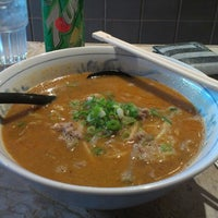 Photo taken at Goma Ichi Ramen by Steve V. on 3/27/2013