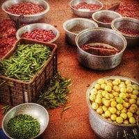 Photo taken at Karaikudi Annalakshmi Restaurant by Ana G. on 2/2/2014