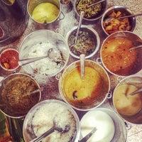 Photo taken at Karaikudi Annalakshmi Restaurant by Ana G. on 1/27/2014