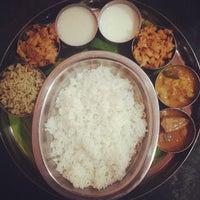 Photo taken at Karaikudi Annalakshmi Restaurant by Ana G. on 3/4/2014