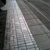 Photo taken at TriMet PSU/SW 6th & Montgomery MAX Station by Alexis D. on 3/7/2013