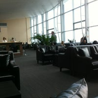 Photo taken at MasterCard Business Lounge by Jenya S. on 11/8/2012