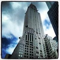 Photo taken at Chrysler Building by Kristina C. on 3/28/2013