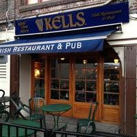 Photo taken at Kells Irish Restaurant & Pub by Elena P. on 4/7/2013