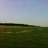 Photo taken at Devbagh Beach by Sharbari C. on 3/29/2013