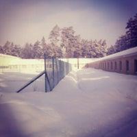 Photo taken at Всеволожская Детская Теннисная Академия (ВДТА) by Nadia B. on 3/12/2013