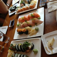 Photo taken at Sushi Zone by Aeree C. on 4/10/2013