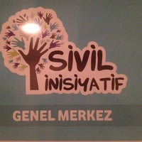 Photo taken at Sivil İnisiyatif Derneği by Mehmet cihat Y. on 11/9/2013