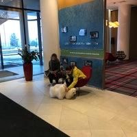 Photo taken at Hampton by Hilton Saint Petersburg ExpoForum by George A. on 12/16/2017