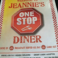 Photo taken at Jeannie's One Stop Diner by Steven D. on 3/28/2013