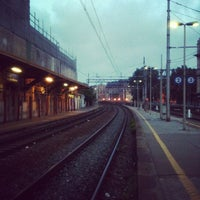 Photo taken at Genova Sampierdarena Railway Station by BenKimYu on 8/5/2013