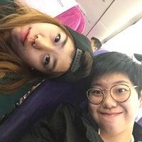 Photo taken at TG639 HKG-BKK / Thai Airways by Dew W. on 11/30/2015