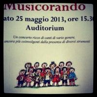 Photo taken at Scuola Civica Di Musica e Danza by Corinna T. on 5/25/2013