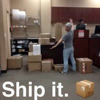 Photo taken at FedEx Office Print & Ship Center by Michelle L. on 2/19/2014