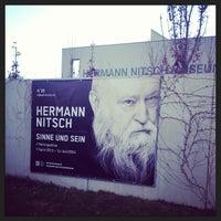 Photo taken at Hermann Nitsch Museum by thomas k. on 11/22/2013