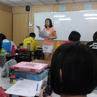 Photo taken at 成功補習中心 Institut Jaya Tuition Centre by Zihong J. on 6/25/2013