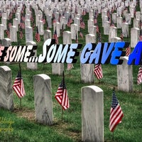 Photo taken at State Veterans Cemetery by Gary H. on 5/28/2014