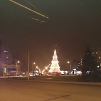 Photo taken at Площадь Победы by Артем З. on 1/2/2014