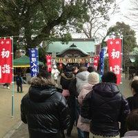 Photo taken at 現人神社 by Takar on 1/1/2013
