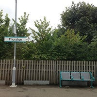Photo taken at Thurston Railway Station (TRS) by Heather on 9/15/2013