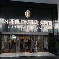 Photo taken at InterContinental London Park Lane by Юрий Д. on 4/23/2013