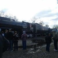 Photo taken at Milwaukee Road 261 Train Yard by Sacajawea on 5/11/2013