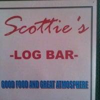 Photo taken at Scottie's Log Bar & Grill by Jeremy L. on 9/2/2012