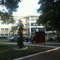 Photo taken at Universidad Tecnológica de Panamá - Campus Central Dr. Víctor Levi Sasso by Darin G. on 6/7/2012