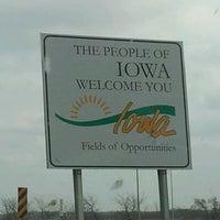 Photo taken at Missouri/Iowa State Line by Jenna B. on 3/18/2012