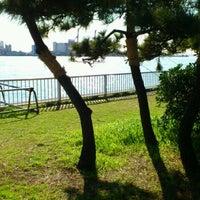 Photo taken at 暁ふ頭公園 by Yasuhiro I. on 12/10/2011