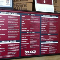 Photo taken at Boloco by Luis M. on 9/11/2011