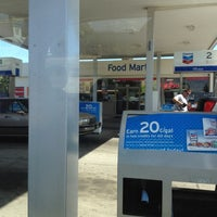 Photo taken at Chevron by Harley A. on 4/27/2012