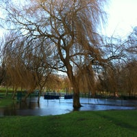 Photo taken at Tredegar Park by Ruth W. on 1/5/2012