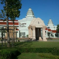 Photo taken at Angkor National Museum by Somrit P. on 11/3/2011