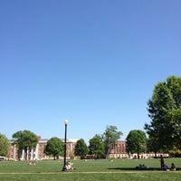Photo taken at University of Alabama Quad by Sam H. on 3/26/2012
