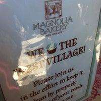 Photo taken at Magnolia Bakery by Bruno E. on 4/7/2012