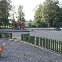 Photo taken at Parkleken Oxtungan by Pierre R. on 9/6/2012