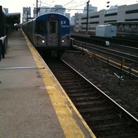 Photo taken at PATH - Harrison Station by Kenneth K. on 4/20/2011