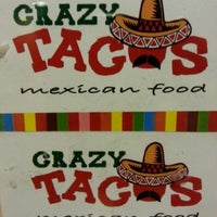 Photo taken at Crazy Tacos - Mexican Food by Claudio Q. on 6/16/2012