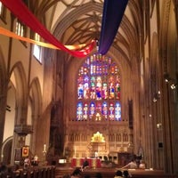 Photo taken at Trinity Church by Orion A. on 5/27/2012