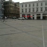 Photo taken at Segafredo Plaza Sotomayor by Anibal Eduardo G. on 9/10/2012