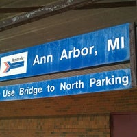 Photo taken at Amtrak - Ann Arbor Station (ARB) by Aaron C. on 6/5/2012