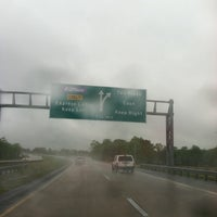 Photo taken at Dover Toll Plaza by Tina L. on 4/22/2012