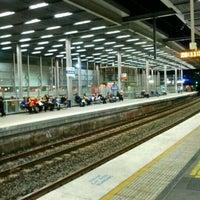 Photo taken at Parramatta Station by Brian C. on 5/10/2012