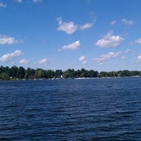 Photo taken at Gourdneck Lake by Marty K. on 8/21/2011