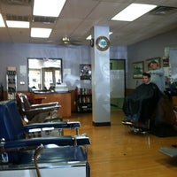 Photo taken at Mustang Barbers by Travis D. on 10/20/2011