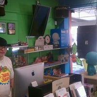 Photo taken at Daddy Kool Records by Moe S. on 12/8/2011