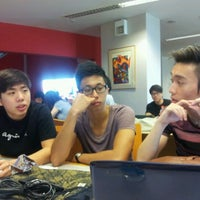 Photo taken at Temasek Polytechnic Library by Chester T. on 2/1/2012