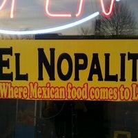 Photo taken at El Nopalito Mexican Food by Joel G. on 11/29/2011